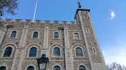 The White Tower, housing the Royal Armouries collections.