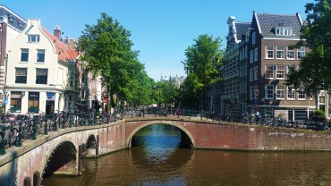 At the Herengracht.