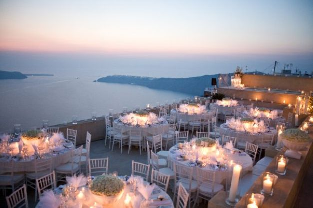 Santorini wedding resorts