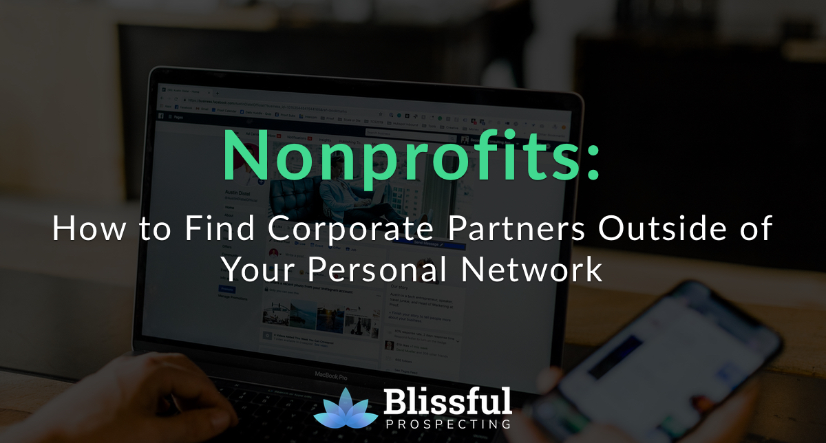 How to Find Corporate Partners Outside of Your Personal Network
