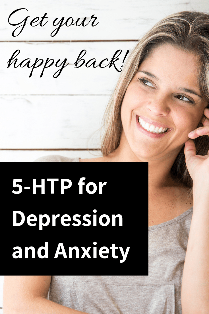 Are you struggling with anxiety and depression? We've all been there. 5-HTP can help boost your mood and reduce your depression so you can get back on your feet. #depression #anxiety #5-htp #mentalhealth