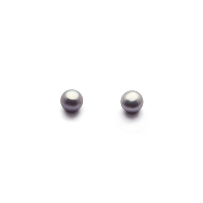 4mm Lavender Freshwater Pearl Stud Earrings