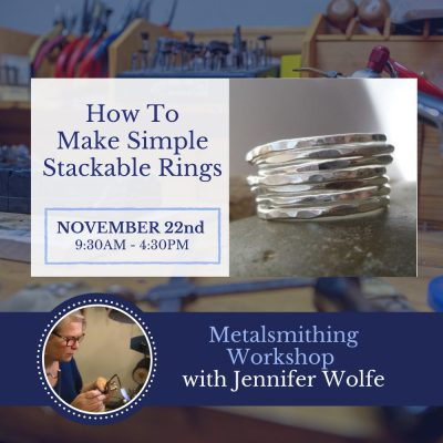 How to make stackable rings