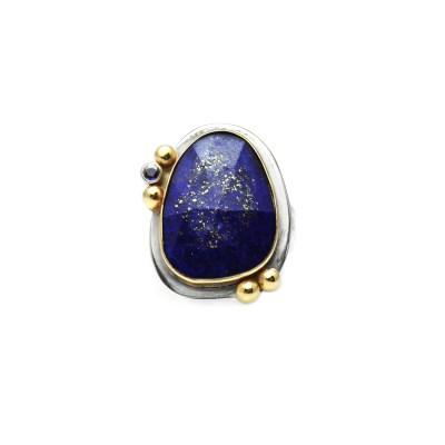 Lapis Sapphire Ring