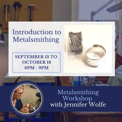 September 13 Introduction to Metalsmithing