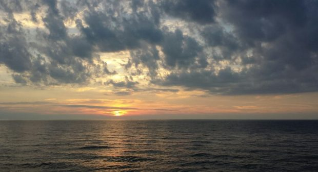 Lake Erie Sunset. A reminder of why we travel. And why we have to pack.