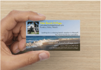 Business card for Real Estate
