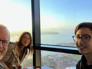 Family Selfie in San Diego