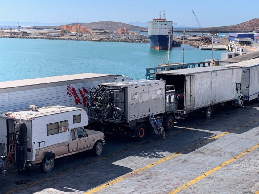 TMC ferry boarding position