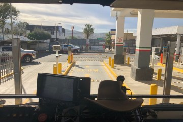 Tecate Border Crossing