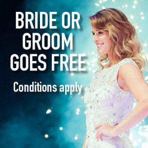 BRIDE OR GROOM GOES FREE 2