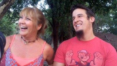 Nathan And Sarah Laughing