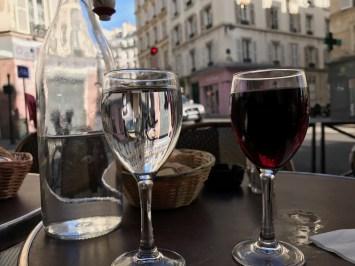 Wine, Water, and Paris