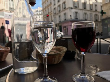 Wine, Water, and Paris