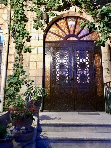 Jerusalem Hotel entrance
