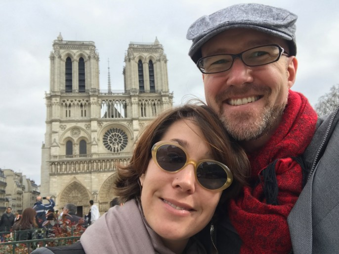 We found Notre Dame in Paris - Île-de-France.