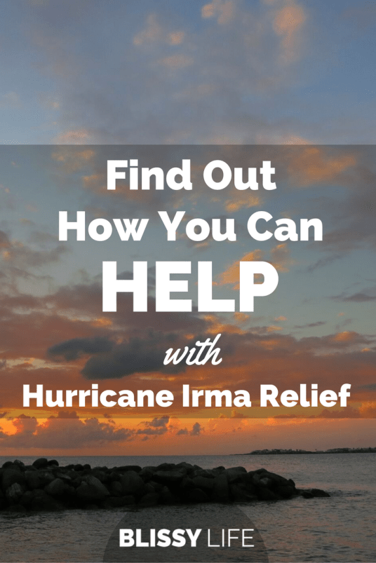Find Out How You Can HELP with Hurricane Irma Relief