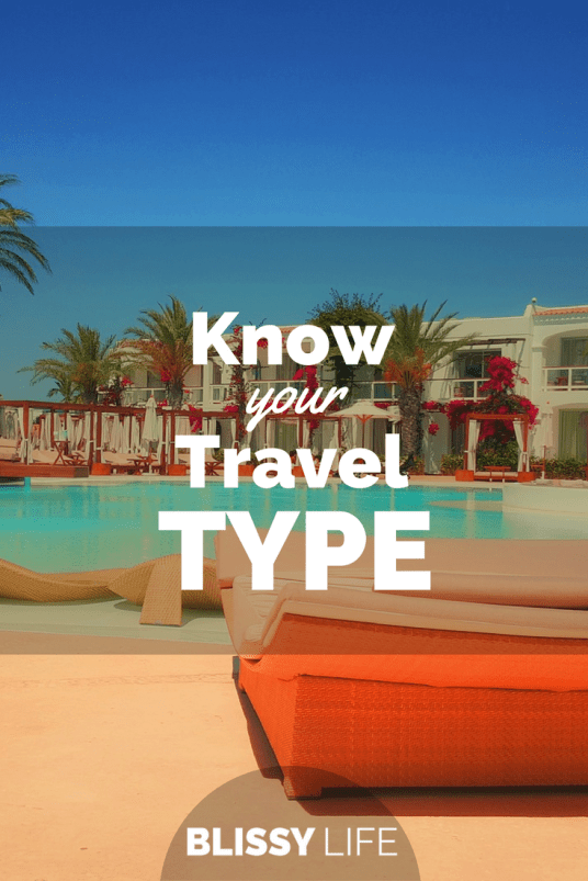 Know your Travel TYPE