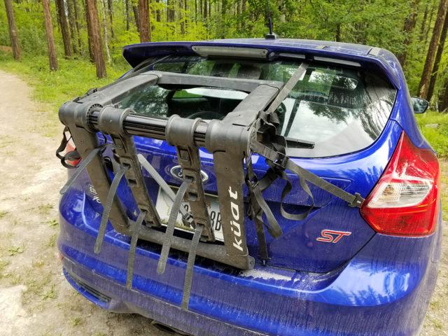 kuat highline trunk rack blister