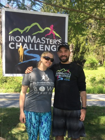 G & I at the finish line