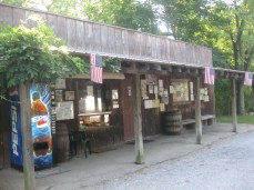check in at Indian Rock Campground