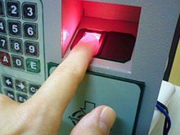 impressão biométrica