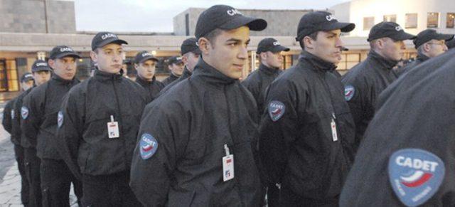 Cadetes da Polícia Nacional