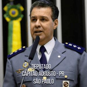 Deputado Capitão Augusto – PR – Capitão da PMESP