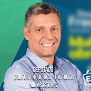 Deputado Doutor Frederico – Patriota – Capitão Médico do CBMMG