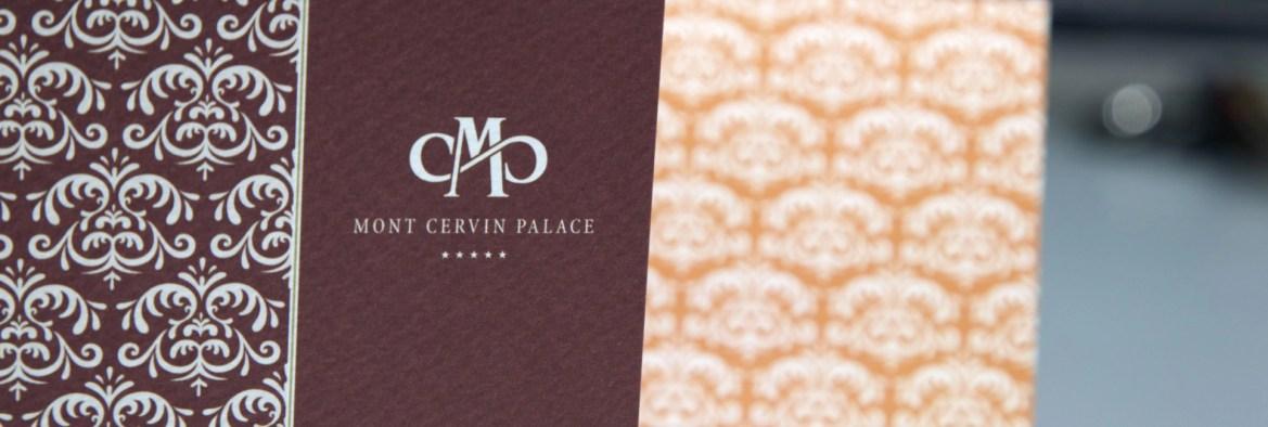 Corporate Design Hotel Mont Cervin Palace Zermatt von Werbeagentur Bern - Blitz & Donner