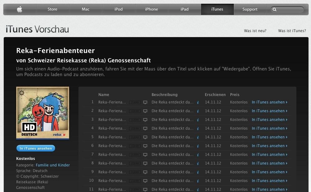 Podcast Reka Kindermarketing - Werbeagentur Bern - Blitz & Donner