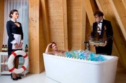 Die Berner Werbeagentur Bern Blitz & Donner inszeniert die neue Bildwelt für das Seiler Hotel Monte Rosa in Zermatt.