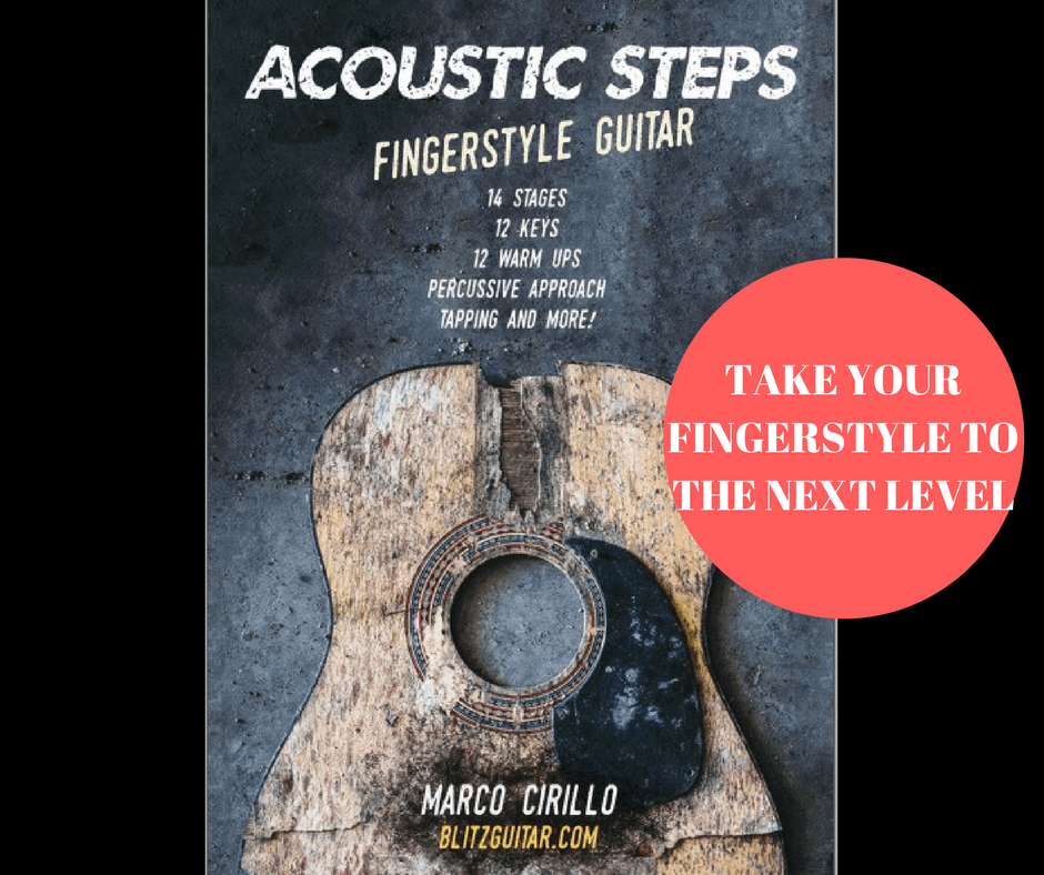 Acoustic Steps Fingerstyle Guitar Book