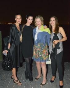 Nicole Gallo, Anges Gund, Julia Stoschek, Angela Goding