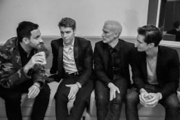 Ricardo Tisci, Klaus Biesenbach und andere Jungs, photo© Kendall Waldman