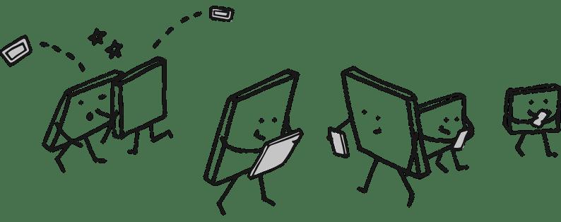 Vi googler på mobilen - derfor skal tekster kunne på små skærme