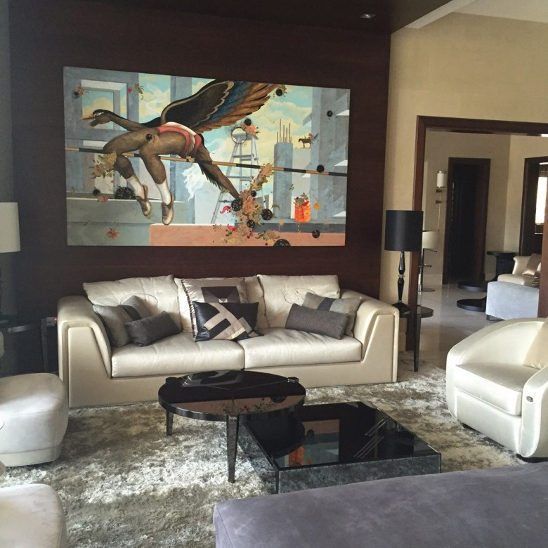 Emirates Hills home before the makeover by XBD Collective
