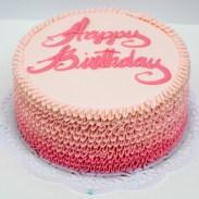 Happy Birthday cake from Magnolia Bakery