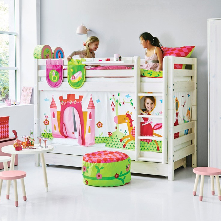 Classic Bunk bed with Princess design