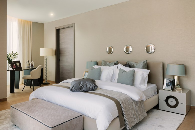 David Scott Interiors, bedroom