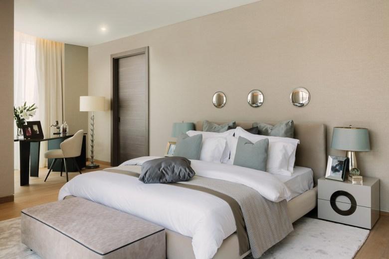 David Scott Interiors, bedroom