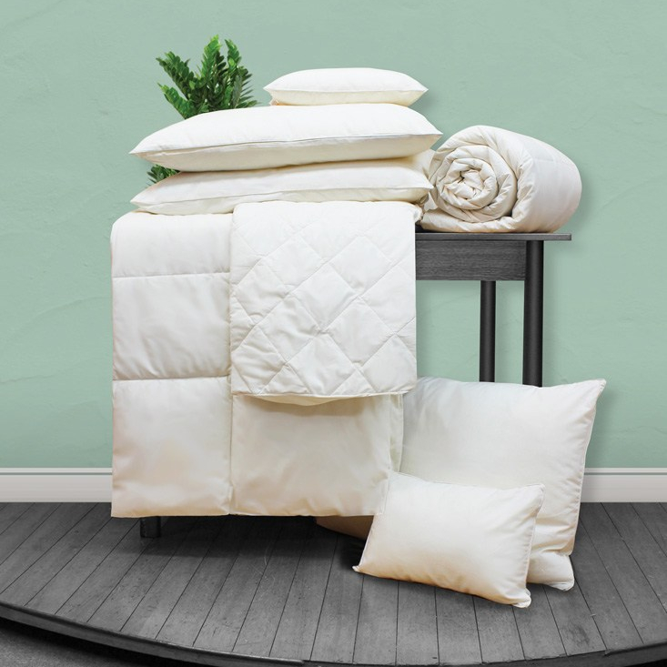 Duvets thermal insulating