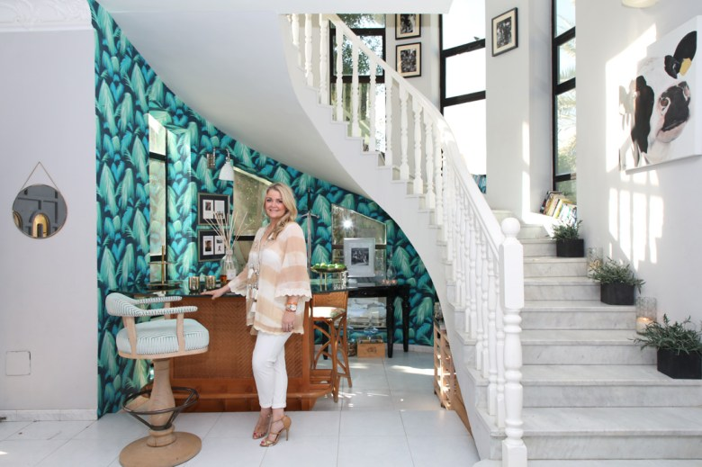 Emma Hutton in her home