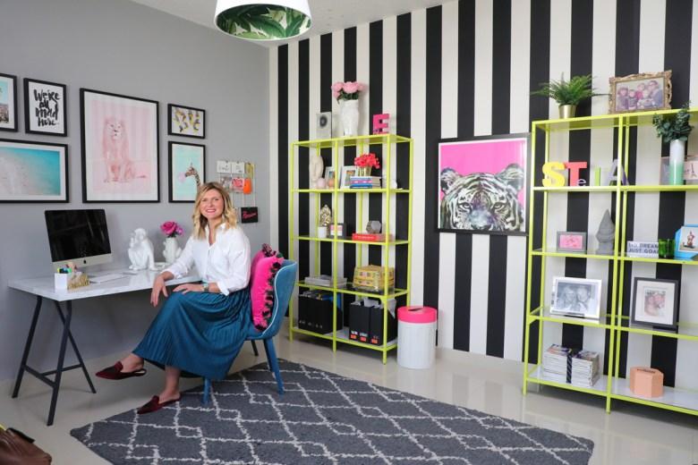 Interior Designer Emilie Jacob at home