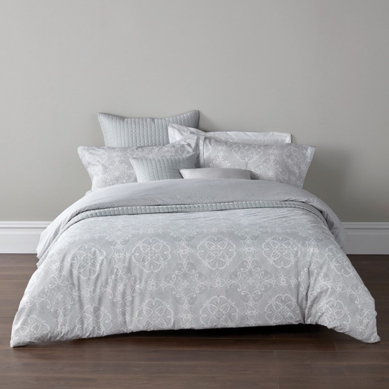 bed, Sumatra Silver Main, Christy Collection at Dwell