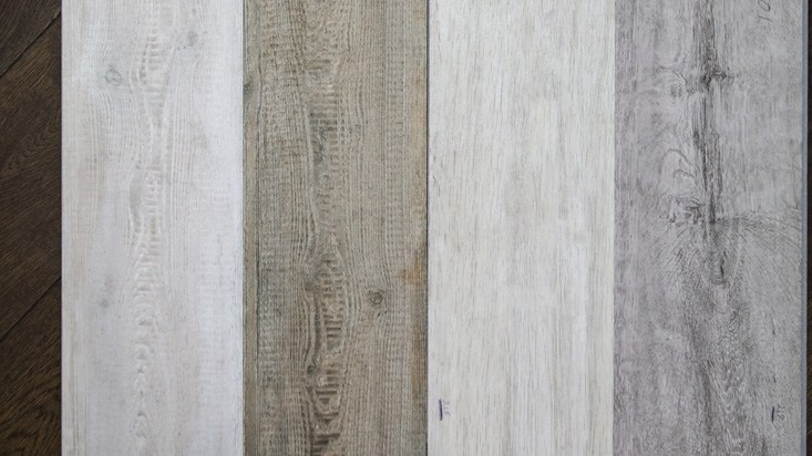 Wood planks next to each other
