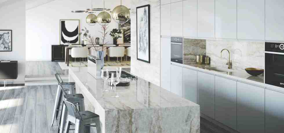Cosentino Dekton Kitchen - Arga (Stonika)