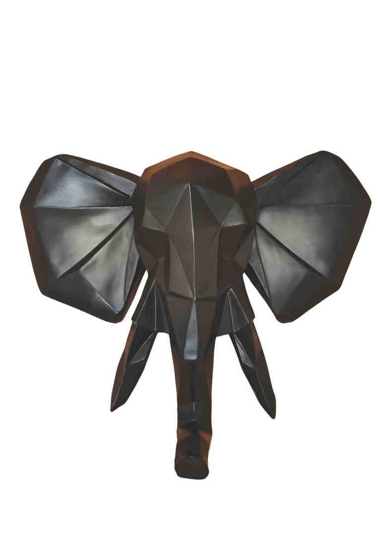 Namshi, Present Time, Elephant Wall Hanger Origami, AED295