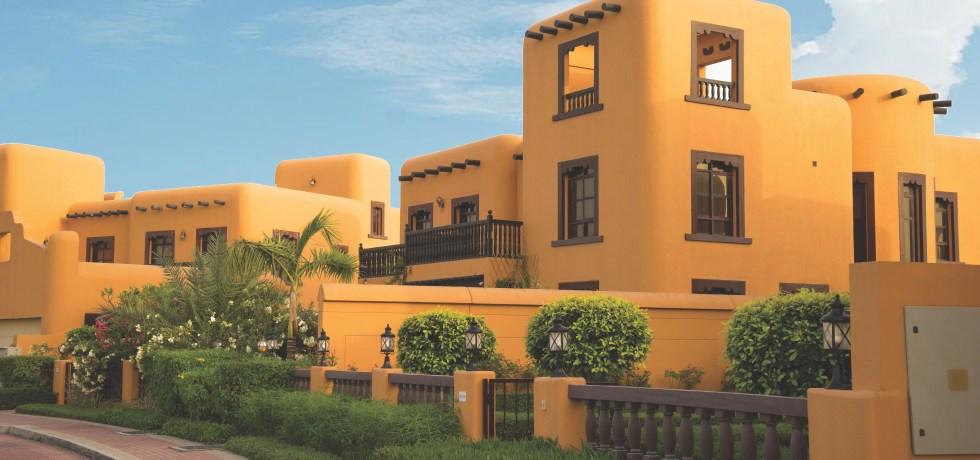 Village Sand House. Emirates, Dubai, Falcon City. Apr.2017