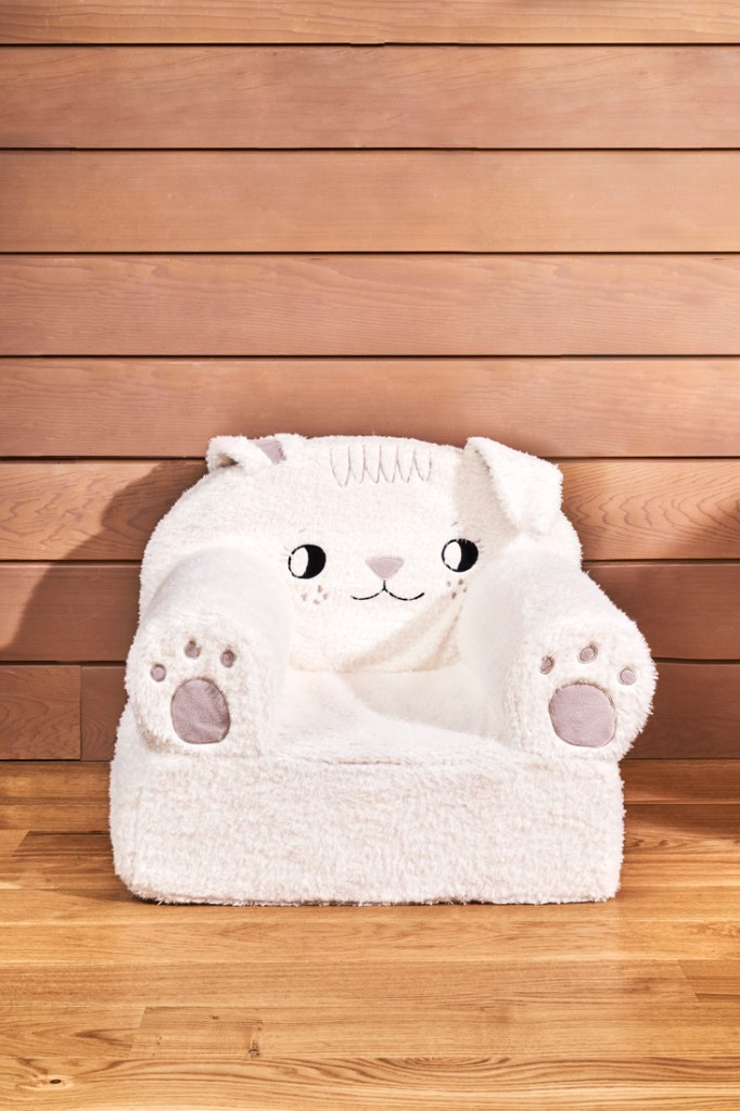 Crate & Kids Furry Bunny Chair Cover